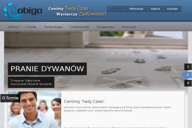 Pralnia Dywanów i Tapicerek FU Robigo. Pranie dywanów, pranie wykładzin - Pralnia Pruszków