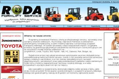 Roda Service - Wózki widłowe Mierczyce