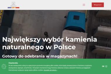 Rogala (filia Bukówka Stara) Zakład Obróbki Kamienia Budowlanego - Skład budowlany Bukówka Stara
