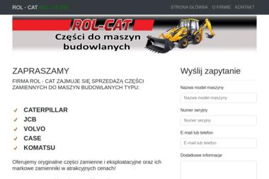 ROL-CAT - Maszyny budowlane Bydgoszcz