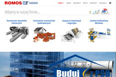 Grupa PSB - Romos / oddział. Materiały budowlane, artykuły wyposażenia wnętrz - Sprzedaż Materiałów Budowlanych Leszno