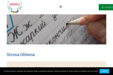 Nauka języka rosyjskiego Akruss Agnieszka Kowalska - Kurs rosyjskiego Gorzów Wielkopolski