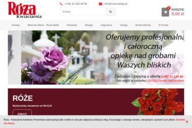 Kwiaciarnia Róża - Kosze prezentowe Gliwice