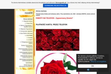 Kwiaciarnia Róża. Zbigniew Laskowski - Kosze Prezentowe Białystok