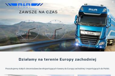 R&R Sp. z o.o. - Transport ciężarowy krajowy Wejherowo