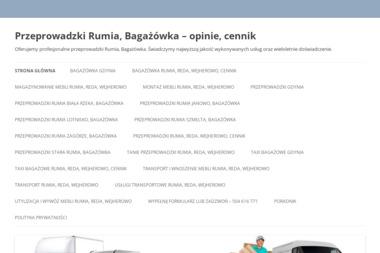 Przeprowadzki, Bagażówka - Przeprowadzki Rumia