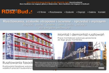 Maciej Wasiluk PHU Rusz Bud - Wynajem Szalunków Siedlce