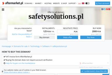 Safety Solutions Sp. z o.o. - Agencja ochrony Lublin