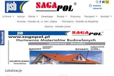 Grupa PSB - Sagapol / oddział. Materiały budowlane, artykuły wyposażenia wnętrz - Materiały Budowlane Mikołów