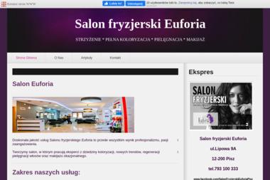 Salon fryzjerski EUFORIA - Stylista Pisz