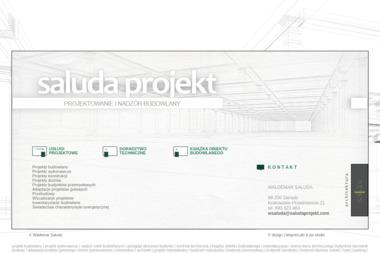 saluda projekt Waldemar Sałuda - Usługi Architektoniczne Sieradz