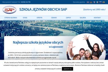 """Szkoła Języków Obcych """"SAP"""" - Język hiszpański Legionowo"""