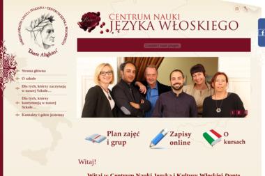 Centrum Nauki Języka Włoskiego DANTE ALIGHIERI - Kurs włoskiego Poznań