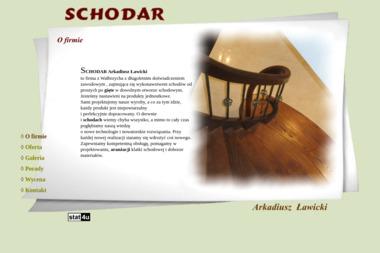 Schodar. Schody z drewna - Schody Metalowe Grębocin