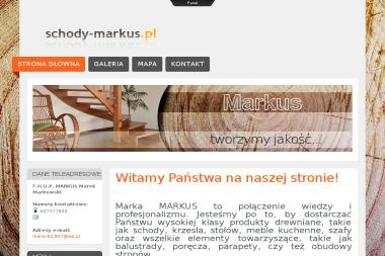 FHUP Markus. Schody, meble, szafy - Schody metalowe Kartuzy