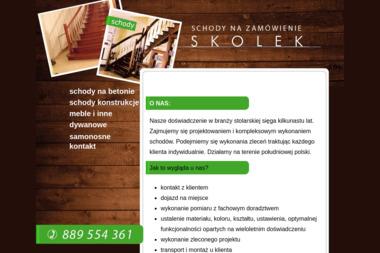 Skolek 1 - Schody Drewniane Na Beton Klecza Dolna