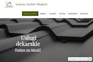 Systemy Dachów Płaskich - Firmy budowlane Mysłowice