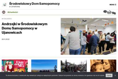 Środowiskowy Dom Samopomocy - Pomoc domowa Limanowa