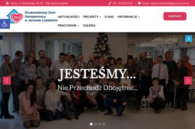 Środowiskowy Dom Samopomocy w Janowie Lubelskim - Pomoc w Domu Janów Lubelski