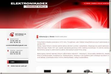 Elektronikadex Tadeusz Kukla - Naprawa telewizorów Bielsko-Biała