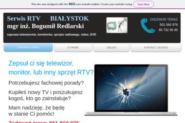 Serwis RTV Bogumił Redlarski - Naprawa Telewizorów Białystok