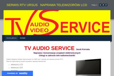 TV Audio Service Jacek Kornata. Serwis RTV - Serwis RTV Warszawa