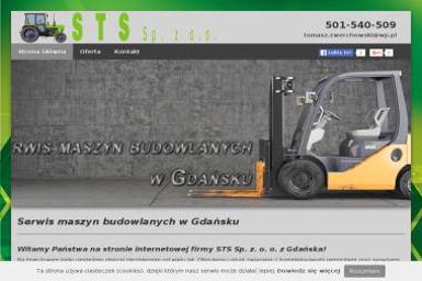 STS Wózki Widłowe, Części, LPG - Serwisy Wózków Widłowych Gdańsk