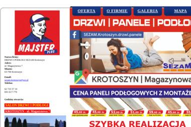 SEZAM-VOX - Sprzedaż Bram Garażowych Krotoszyn