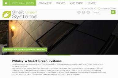 Smart Green Systems. Fotowoltaika, elektrownia słoneczna, panel fotowoltaiczny - Energia Odnawialna Bielsko-Biała