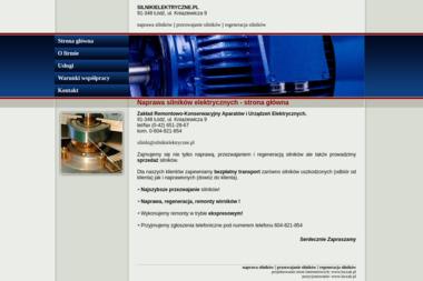 Zakład Remontowo-Konserwacyjny Aparatów I Urządzeń Elektrycznych - Naprawa Szlifierek Łódź