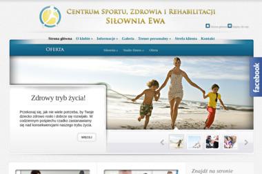 """Centrum Sportu, Zdrowia i Rehabilitacji SIŁOWNIA """"EWA"""" - Trener personalny Łomża"""