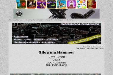 Fitness Club Siłownia Hammer - Trening Personalny Milanówek