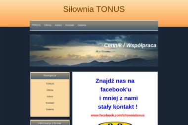 SIŁOWNIA TONUS - Trener personalny Płock