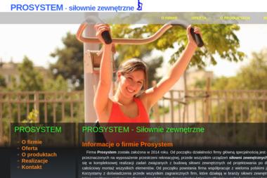 Prosystem - Trener personalny Mosina
