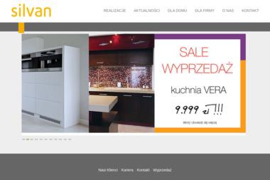 Silvan. Producent mebli kuchennych, biurowych, elementów dekoracji wnętrz - Meble na wymiar Rogulewo