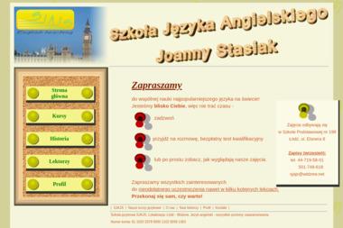 Szkoła Języka Angielskiego Joanny Stasiak - Szkoła językowa Stare Chrusty