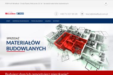 SKŁADBUD - Styropian na Posadzki Środa Śląska