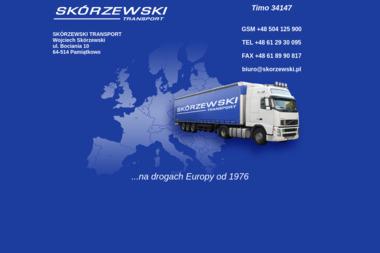 Józef Skórzewski - Transport Oborniki