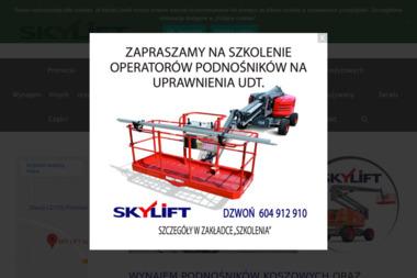 Sky Lift Sp. z o.o. - Wypożyczalnia Sprzętu Budowlanego Jelcz-Laskowice