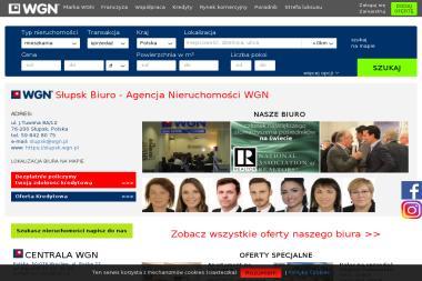 Międzynarodowy Koncern Obrotu Nieruchomościami WGN Nieruchomości Przedstawicielstwo w Słupsku - Agencja nieruchomości Słupsk