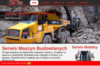 SMBWG Witold Garczyński - Maszyny budowlane Kalisz