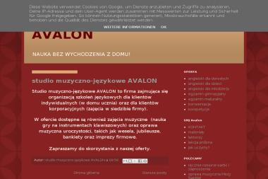 Studio Muzyczno-Językowe Avalon Art Progress. Korepetycje, angielski - Zespół muzyczny Rybnik