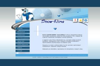 """P.H.U. ELDOM - SERWIS """"Snow-Klima"""" - Klimatyzacja Do Domu Kędzierzyn-Koźle"""