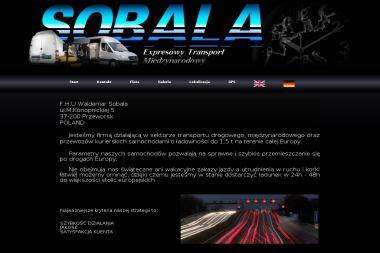 Waldemar Sobala FHU - Transport Przeworsk