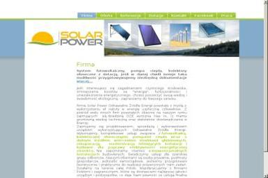 Solar Power Odnawialne Źródła Energii - Montaż Kolektorów Słonecznych Gromnik