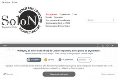 """Ubezpieczeniowa """"Solon"""" - Finanse Dębica"""