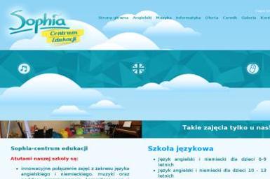 Marta Wojciechowska Sophia Dziecięco Młodzieżowe Centrum Edukacji - Nauczanie Języków Leszno