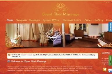 Sopot Thai Massage - Gabinet Masażu Sopot