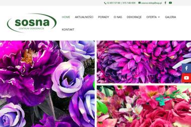 Centrum Ogrodnicze SOSNA - Środki ochrony roślin Wieliczka