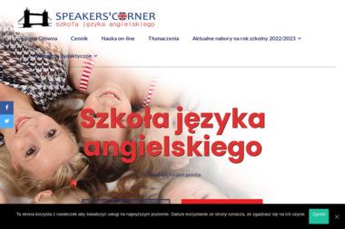 Speakers' Corner - Szkoła językowa Dukla